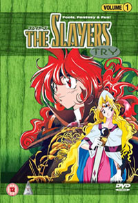 The Slayers DVD Cover