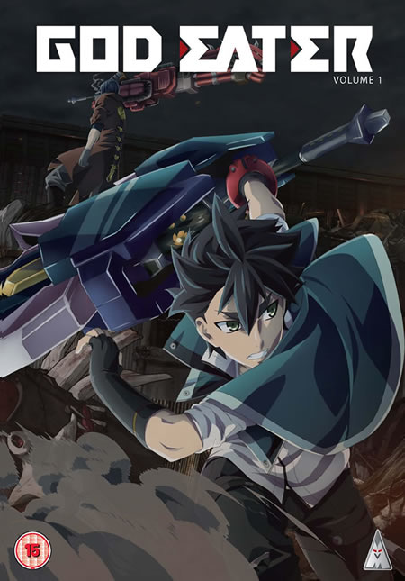 MVM DVD cover - God Eater